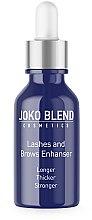 Духи, Парфюмерия, косметика Масло для ресниц и бровей - Joko Blend Lashes And Brows Enhans