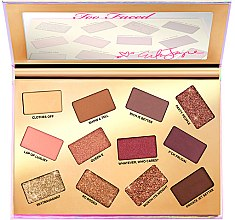 Палетка теней для век - Too Faced Erika Jayne Pretty Mess EyeShadow Palette — фото N3