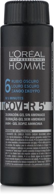 Окрашивающий гель для волос - L'Oreal Professionnel Cover 5 (1x50ml)