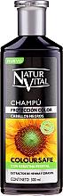 Духи, Парфюмерия, косметика Шампунь для сохранения цвета окрашеных волос - Natur Vital Coloursafe Henna Colour Shampoo Black Hair