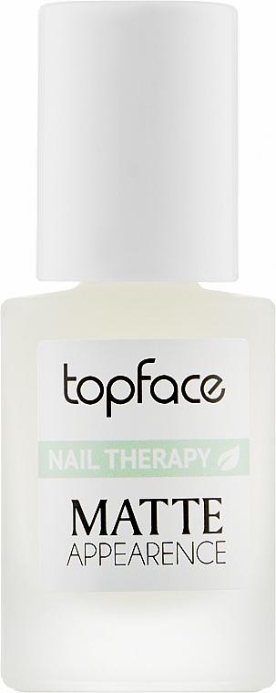 Лечебный лак для ногтей - Topface Nail Therapy Matte Appearencel