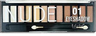Палетка теней для век, 12 цветов - DoDo Girl Eyeshadow Palette
