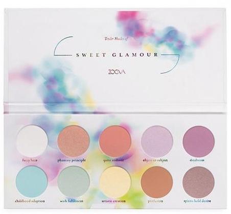 Zoeva Sweet Glamour Paleta - Палетка теней для глаз: купить по лучшей цене в Украине | Makeup.ua