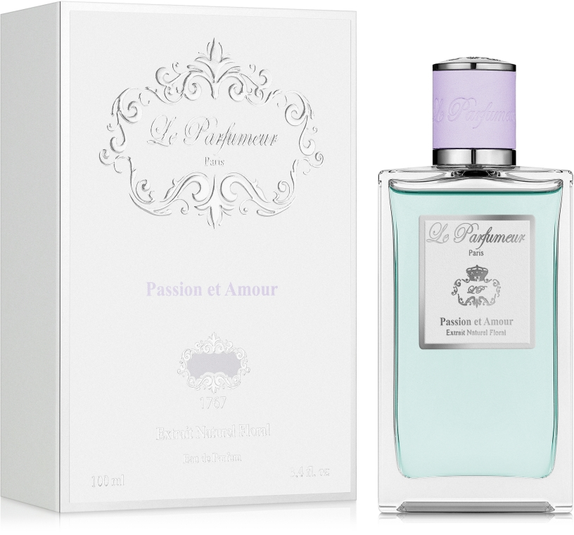Le Parfumeur Passion Amour Et - Парфумована вода (тестер з кришечкою) — фото N2