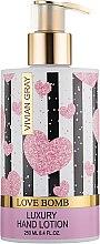 Духи, Парфюмерия, косметика Лосьон для рук - Vivian Gray Love Bomb Luxury Hand Lotion