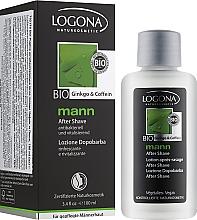 Антибактеріальна рідина після гоління - Logona Man After Shave — фото N2