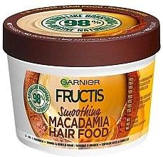 Духи, Парфюмерия, косметика Разглаживающая маска для непослушных волос - Garnier Fructis Macadamia Hair Food Smoothing Mask