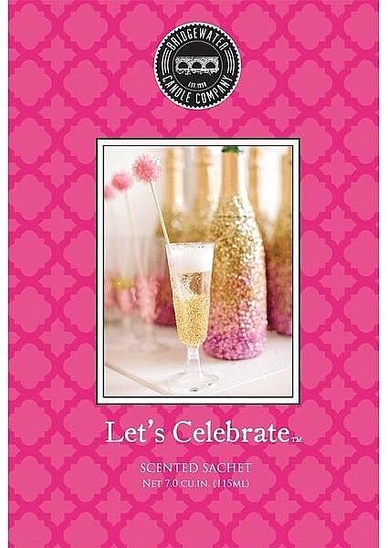 Bridgewater Candle Company Let's Celebrate - Парфюмированное саше