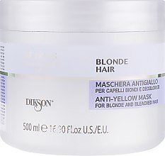 Духи, Парфюмерия, косметика Маска для осветленных волос - Dikson Keiras Urban Barrier Blonde Hair Mask