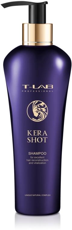 Шампунь для превосходной реконструкции и витализации - T-LAB Professional Kera Shot Shampoo