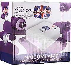 Духи, Парфюмерия, косметика Лампа для ногтей UV, розовая - Ronney Profesional Clara UV 36W (GY-UV-818) Lamp