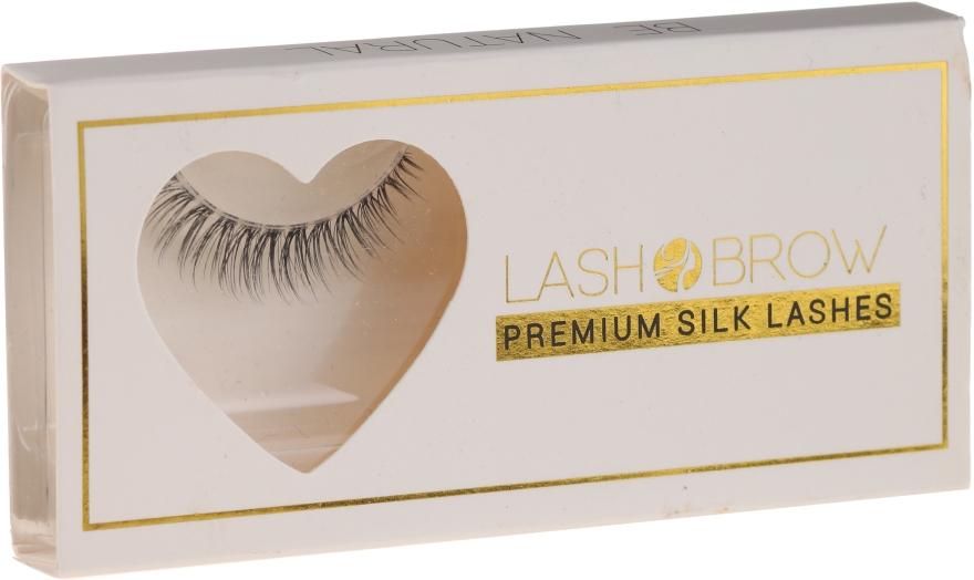 Накладные ресницы - Lash Brown Premium Silk Lashes Be Natural