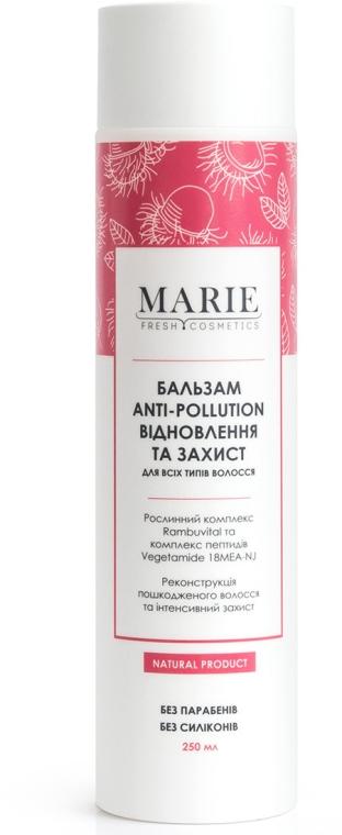 """Бальзам для всех типов волос """"Восстановление и защита"""" - Marie Fresh Cosmetics Anti-Pollution Balm"""