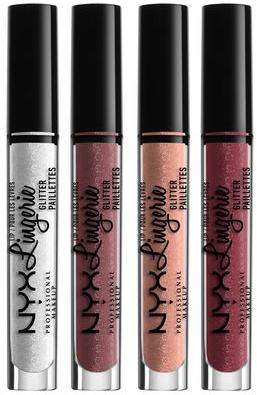 Блеск для губ - NYX Professional Makeup Lip Lingerie Glitter Lip Gloss