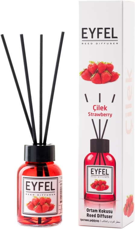 "Аромадиффузор ""Клубника"" - Eyfel Perfume Reed Diffuser Strawberry"