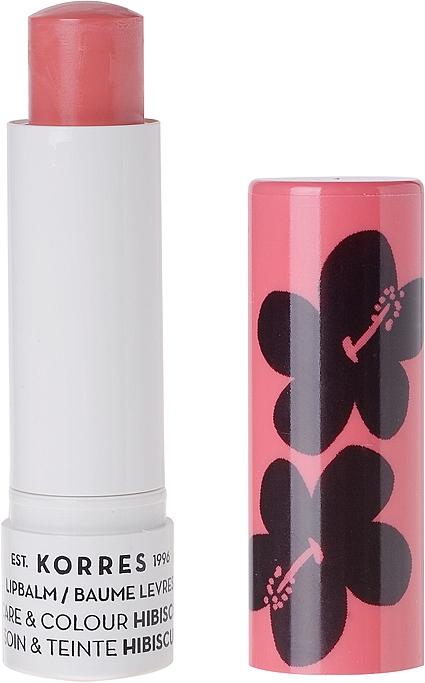 """Бальзам для губ """"Гибискус"""" - Korres Lip Care & Colour Stick Hibiscus"""