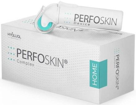 Anti-age комплекс - Institute Hyalual Anti-age Perfoskin Home Complex (roller/1шт + prederm/5ml) — фото N2