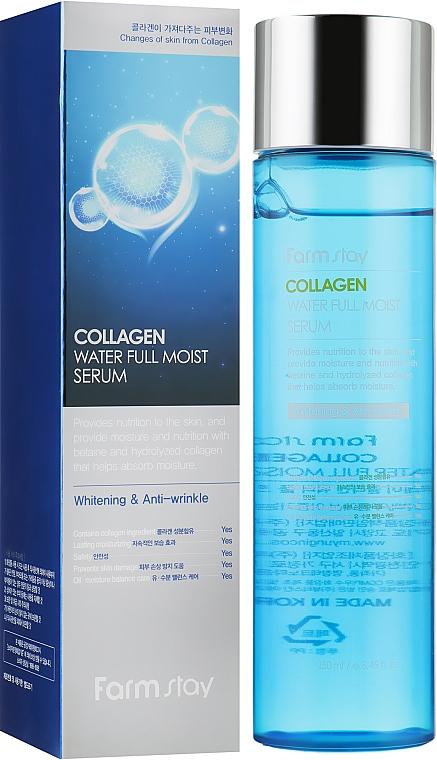 Увлажняющая сыворотка с коллагеном - FarmStay Collagen Water Full Moist Serum