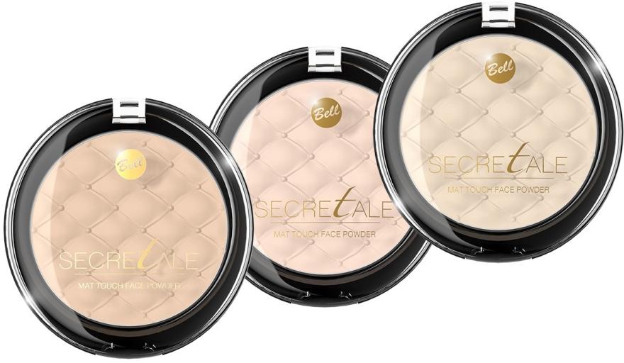 Матирующая пудра для лица - Bell Secretale Mat Touch Face Powder