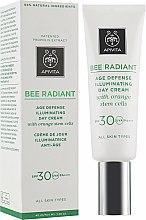 Духи, Парфюмерия, косметика Крем для сияния и защиты кожи от преждевременного старения - Apivita Bee Radiant Cream