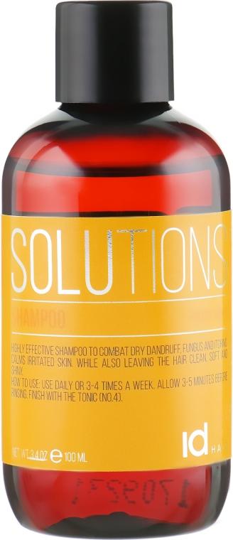 Шампунь для сухой кожи головы - idHair Solutions № 2 Shampoo