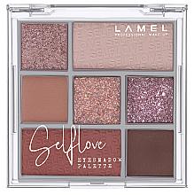 Духи, Парфюмерия, косметика УЦЕНКА Палетка теней для век - Lamel Professional Selflove Eyeshadow Palette *