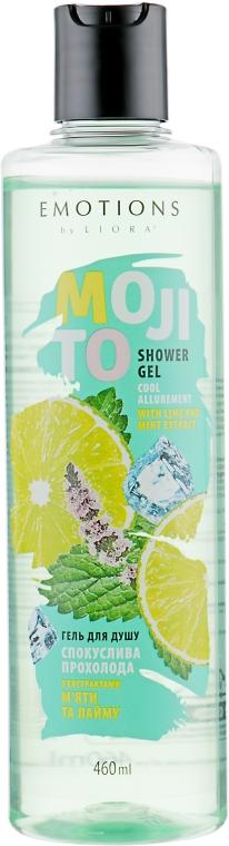"""Гель для душа """"Соблазнительная прохлада"""" - Liora Emotions Mojito Shower Gel"""