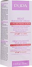 Духи, Парфюмерия, косметика Крем для увеличения объема груди - Pupa Rapid Action Breast Enhancer