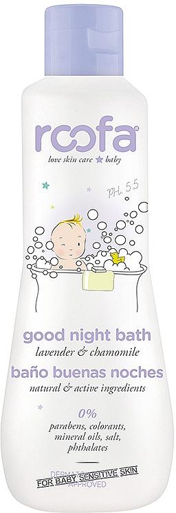 Успокаивающий гель-пенка для ванны с лавандой - Roofa Good Night Bath Gel