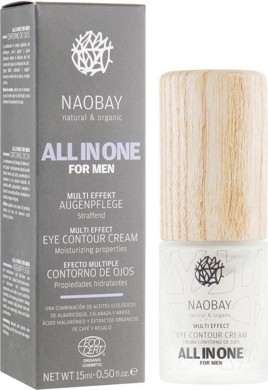 Крем для контура глаз ухаживающий - Naobay All In One Eye Contour Cream