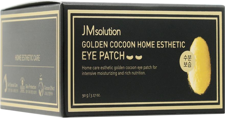 Гидрогелевые омолаживающие патчи с золотом - JMsolution Golden Cocoon Home Esthetic Eye Patch