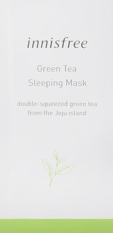 Увлажняющая ночная маска с экстрактом зеленого чая - Innisfree Green Tea Sleeping Mask (пробник)