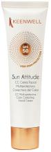 Духи, Парфюмерия, косметика Мультиактивный солнцезащитный крем для лица - Keenwell Sun Care Multi-Protective Facial Cream SPF 50