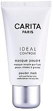Духи, Парфюмерия, косметика Матирующая маска для комбинированной и жирной кожи - Carita Ideal Controle Powder Mask