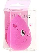 Духи, Парфюмерия, косметика Спонж для макияжа, светло-розовый - Bling Ring Original BeautyBlender
