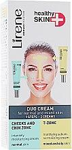 Духи, Парфюмерия, косметика Дуо-крем для нормальной и комбинированой кожи лица - Lirene Здоровая кожа+