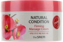 Духи, Парфюмерия, косметика Крем массажный укрепляющий - The Saem Natural Condition Firming Massage Cream