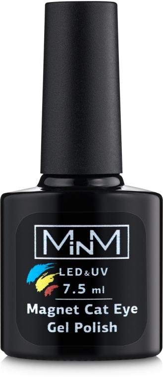 Гель-лак 7.5 мл. - M-in-M Magnet Cat Eye Gel Polish