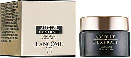 Духи, Парфюмерия, косметика Крем-эликсир для лица - Lancome Absolue L'extrait Ultimate elixir Cream (мини)