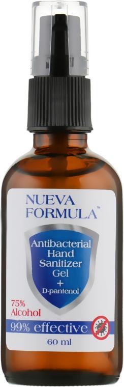 Антисептик-гель для рук - Nueva Formula Antibacterial Hand Sanitizer Gel+D-pantenol 75% Alcohol