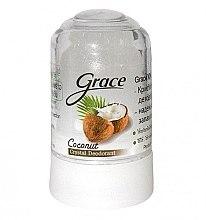 Духи, Парфюмерия, косметика Кристаллический дезодорант с кокосовым маслом - Grace Natural Deodorant