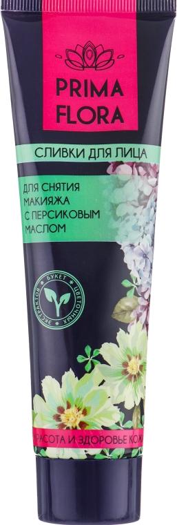 Сливки для снятия макияжа с персиковым маслом - Modum Prima Flora