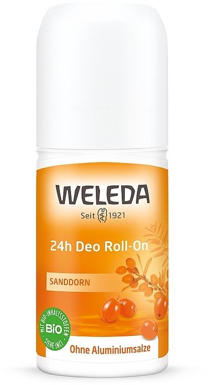 "Дезодорант шариковый ""Облепиха"" - Weleda 24h Sanddorn Deodorant Roll-On"
