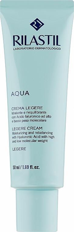 Питательный крем для восстановления водного баланса для нормальной и комбинированной кожи лица - Rilastil Aqua Crema