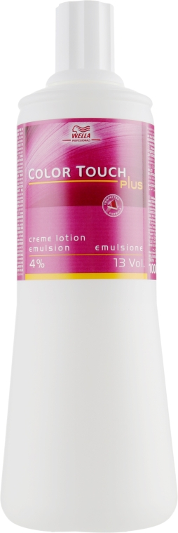 Эмульсия для краски Color Touch Plus - Wella Professionals Color Touch Plus Emulsion 4%