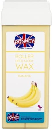 "Воск для депиляции в картридже ""Банан"" - Ronney Professional Wax Cartridge Banana"