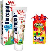 Духи, Парфюмерия, косметика Набор - Biorepair (toothpaste/50ml + wax/pencils)