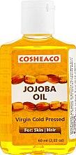 Масло жожоба холодного отжима для тела и волос, нерафинированное - Cosheaco Virgin Cold Pressed Jojoba Oil  — фото N1