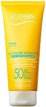 Духи, Парфюмерия, косметика Солнцезащитное молочко для тела - Biotherm Moisturizing Sun Milk SPF50