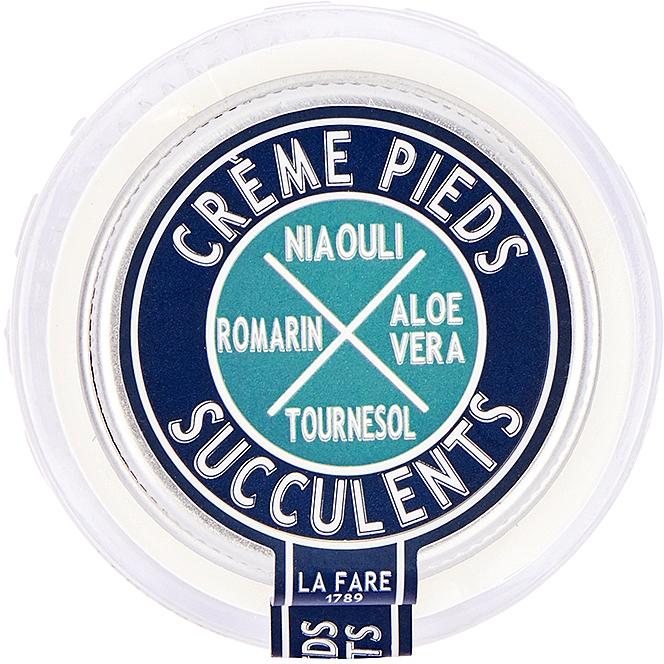 Крем для ног восстанавливающий - La Fare 1789 Succulent Foot Cream